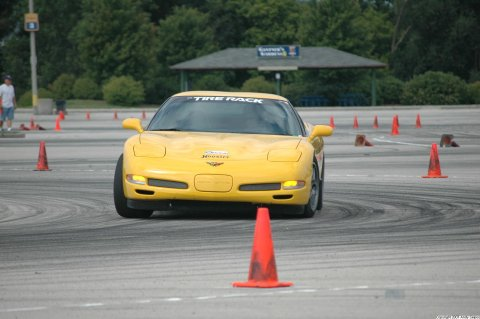 Autocrossing the Z06