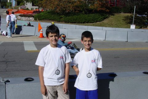 Anthony with brother Joey (2nd) winning the Naperville Grand Prix (12)