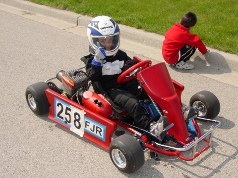 Joey in his first kart (8)
